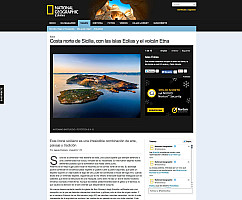 National Geographic isole eolie